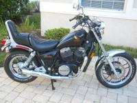 1984 Honda VT700 Black Shadow,ONLY 8K MILES,6 speed