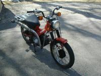Barn find 1984 Honda Trail 110 on/off road