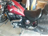 For sale is a very nice Honda motorcycle garage kept &