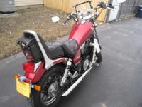 For sale is a very nice 1984 honda vt700c motorcycle,