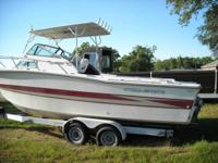 Boat is in really good condition. 2 motor mounts &