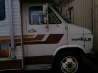 I have a 1984 Jamee class c rv for sale for $3,000 OBO.