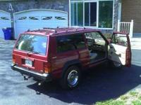 Classic 1984 Jeep Cherokee Excellent Condition Red with