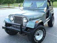 Up for sale is my very clean 1984 Jeep CJ7 Renegade. It