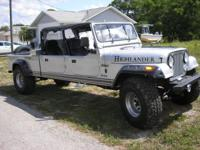 1 OF A KIND CONVERSION THAT IS ALL JEEP EXCEPT THE