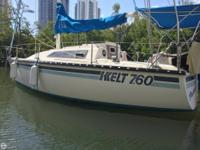 - Stock #078128 - 25' Kelt Sailboat, Loaded and Great