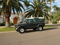 fully original, frame off restored Land Rover Defender