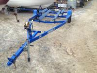 Boat Trailers Bunk Trailers. 1984 Load Rite 19' Blue