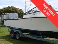A true cult boat! The Mako 25 with cuddy is an