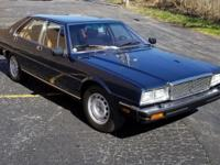 1984 Maserati Quattroporte III Impeccably Maintained