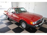 This is a Mercedes-Benz, SL 380 for sale by Ideal