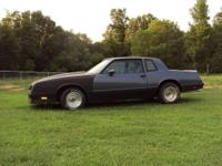 For sale is my 1984 Chevy Monte Carlo SS which has been