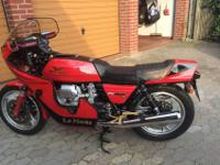 Its a GUZZI! And a very, very good one. I would not