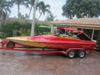 FRESH WATER CUSTOM JET BOAT-1984 NORDIC HULL 22FT.