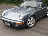 This classic 1984 Porsche 911 Carrera Cabriolet is in