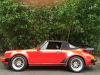 1984 Porsche 911 Carrera None- Factory Wide Body