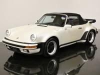 1984 Porsche 911 Carrera Turbo-Look Cabriolet finished