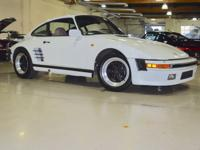 Original Factory built 1984 PORSCHE 911 Turbo Slant