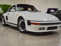 Original Factory built 1984 PORSCHE 911 Turbo Slant