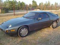 1984 PORSCHE 928 Two door Coupe, V8, AUTOMATIC, 160 mph