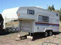 1984 prowler camp trailer. Its 18 ft long and has