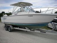 1984 Pursuit 2500 CC PURSUIT 2500 CUDDY CABIN BOAT: