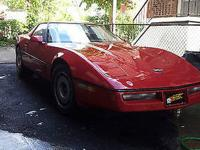 1986 Corvette Redblack Stripe For Sale In Piscataway New Jersey