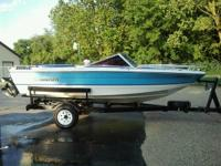 I have a 1984 Rinker V170 I/O, it is 17 foot. It has