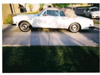 1984 Rolls Royce Convertible, white body and Tan Top,