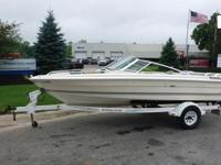 "1984 Searay Seville 16' 6"" Boat, Fiberglass Hull, 79"""