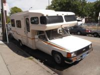 1984 TOYOTA CAMPER, AUTOMATIC, AIR, CRUSE, ONLY 91K