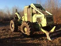 1984 Tree Farmer C5D Deutz Grapple. 1984 Tree Farmer