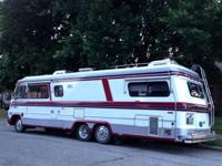 Very Clean 1984 Vogue II Motorhome454 Chevy Gas