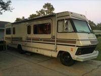 1984 30' class A Winnebago Chieftan. Chevy 454 Big