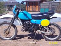 Description Make: Yamaha Model: IT 175 Year: 1984