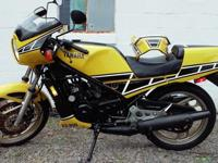 Vintage, 1984 Yamaha Kenny Roberts-RZ350, Low Miles,