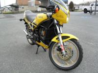 1984 Yamaha RZ350 that has been stored for my father.