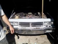 """ I HAVE A MECHANIC'S SPECIAL ... 1984 CAPRICE, '78LOCK"