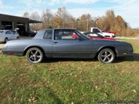 1984 Chevy Monte Carlo SS 305 motor only 79k Rare