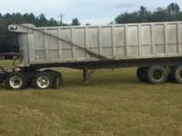 1984 Custom 30' Tandem Axle Dump Trailer For Sale in