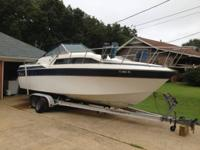 1984 Wellcraft 260 AFT 26' Cabin Cruiser.  This boat