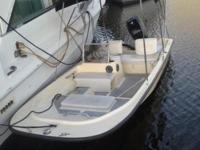 This is a 1985 16.2' Wahoo, just like a Boston Whaler,