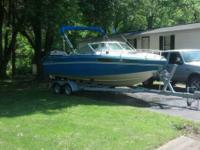 1985 Chris craft 22ft cuddy cabin cruiser. V8 305