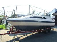 Bayliner Ciera with 350 V-8 Volvo penta. fresh water