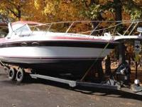 "This is a very roomy cruiser with an 11'8"" beam and is"