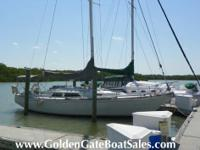 1985, 37' C & C YACHTS TRI-CABIN SAILBOAT Price Just