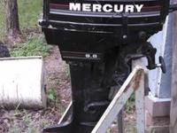 I'm Selling my 9.8 mercury outboard. Absolutely nothing