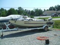 We have a 1985 Bass Tracker for sale with a 50hp
