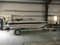 1985 Bayliner Capri 16 foot Motor Boat with an Inboard