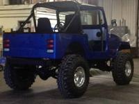 1985 CJ-7 Jeep Newly Restored $7500 OBO Brand New Crate